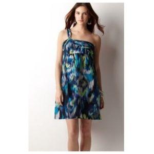 Ann Taylor Dresses - Ann Taylor Loft silk blend blue dress